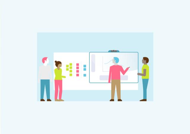 de 5 fases van agile werken